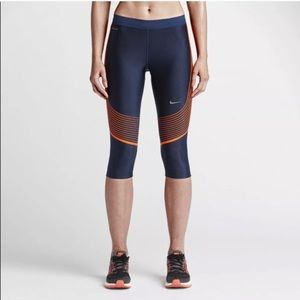 NIKE Dri-Fit Power Speed Capri Tights